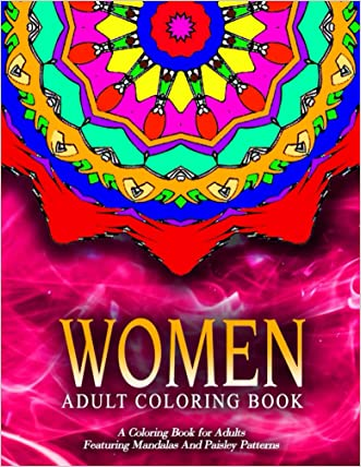 WOMEN ADULT COLORING BOOKS - Vol.13: coloring books for adults relaxation with pencils