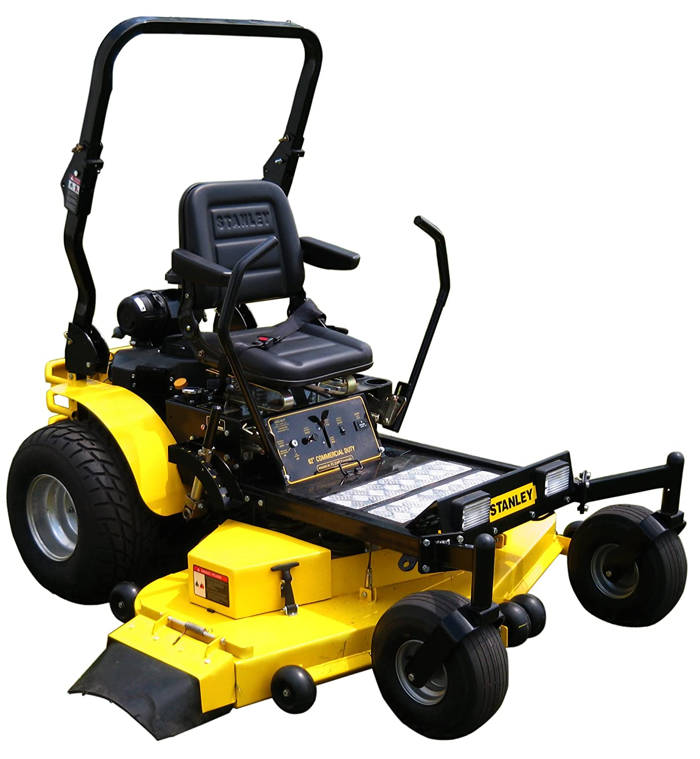 Commercial Lawn Mowers : Stanley zs hp commercial duty inch zero turn