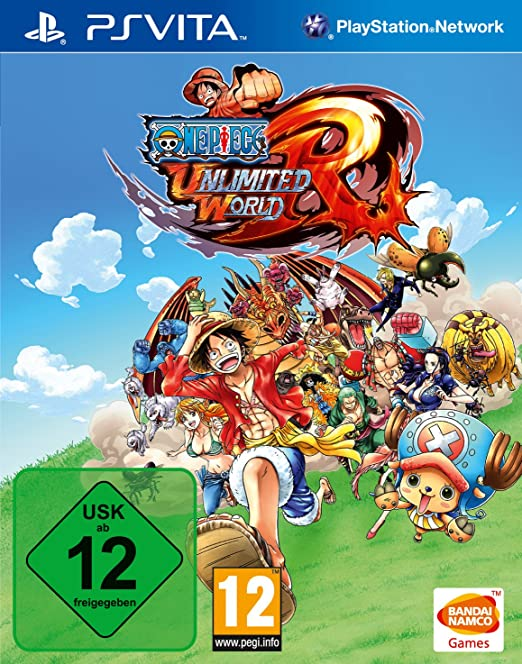 One Piece Unlimited World Red, PS Vita