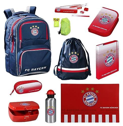 FC Bayern Muenchen Schulrucksack Set 15 tlg.
