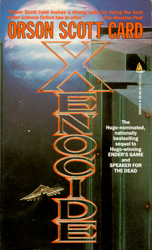 an analysis of the novel xenocide by orson scott card