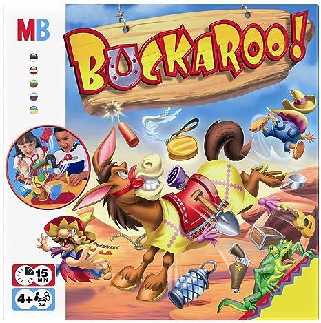Hasbro – 48380 – Buckaroo ! (Bourricot ! Version Anglaise)