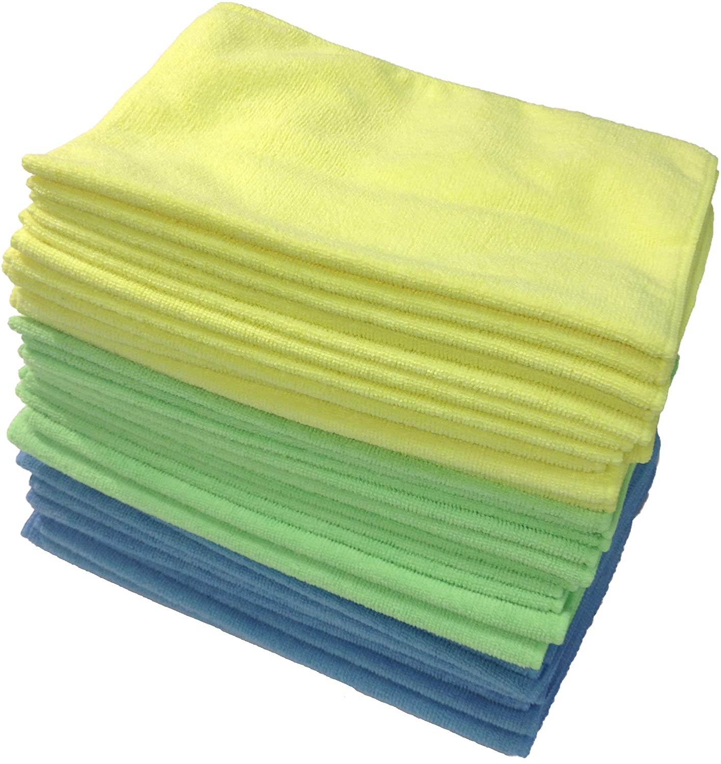 Grab a pack of microfiber cloths. They're useful all around the house.