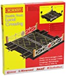 Hornby Gauge Level Crossing Double Track, Multi Color