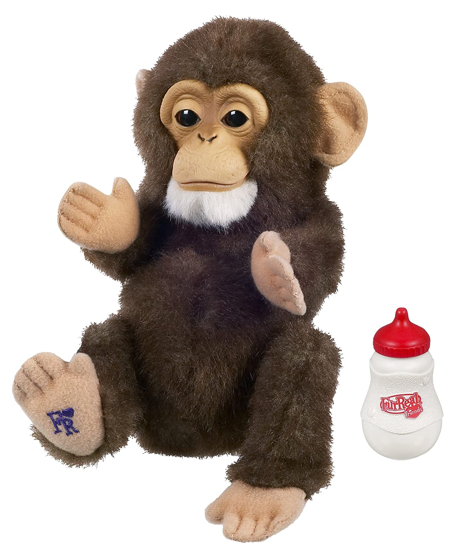 Hasbro 94351 FurReal friends Baby Affe Schimpanse Stofftier mit Funktion ca.18cm günstig