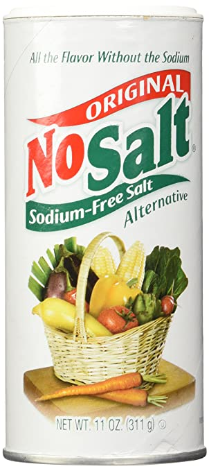 No Salt Salt Substitute, 11-Ounce Cans (Pack of 2)