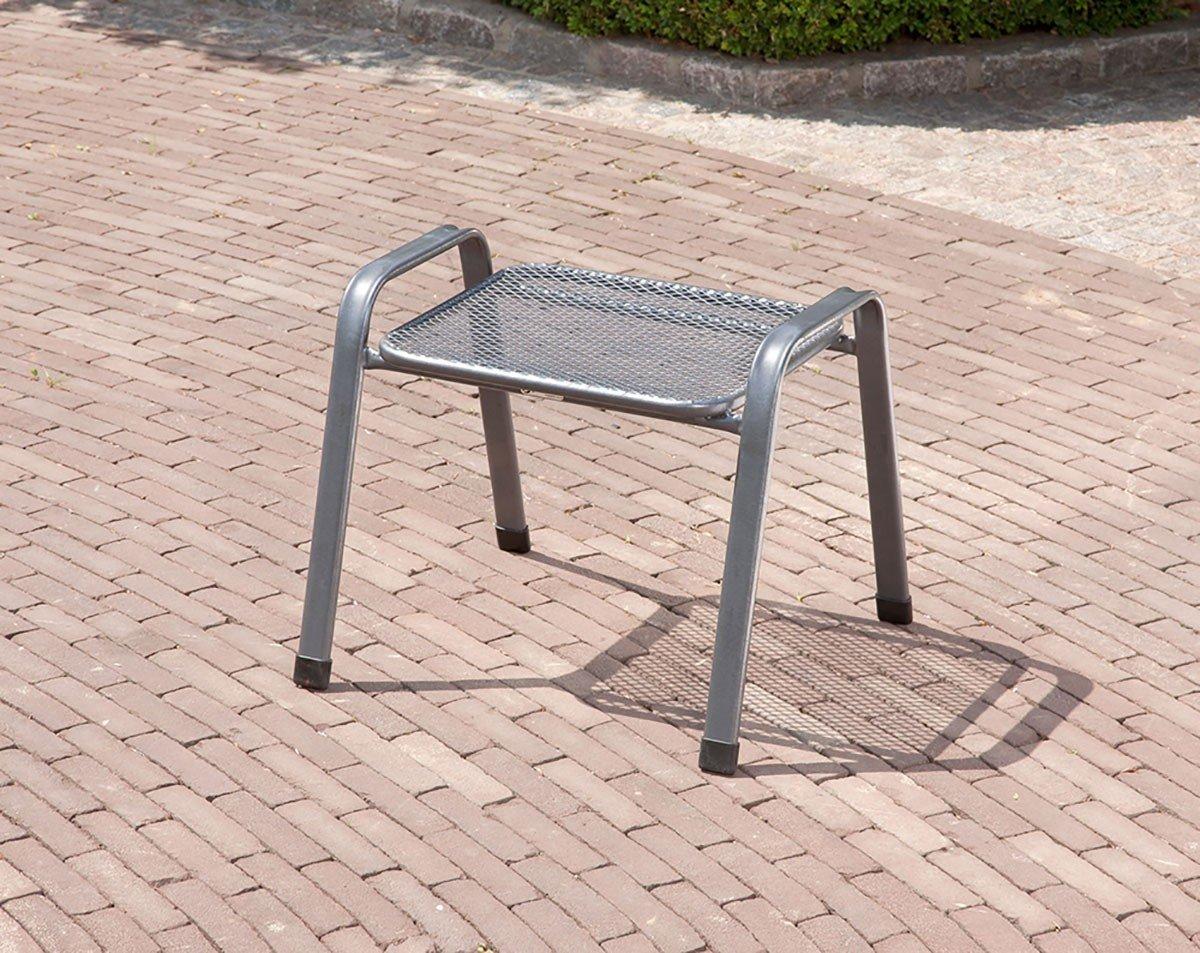 Stapelhocker, Sitzhocker, Fußhocker, Beistellmöbel, Stuhl, Stahl, 52x58x48 cm online kaufen