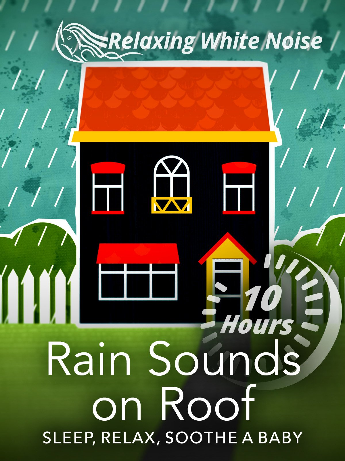 Rain Sounds on Roof 10 Hours