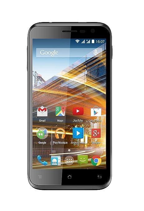 Archos 50c Neon Smartphone débloqué 3G (Ecran: 5 pouces - 8 Go - Double SIM - Android 4.4 KitKat) Noir
