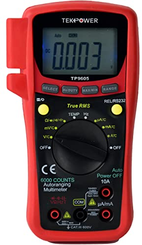 TekPower TP9605BT Android -Wireless Multimeter Review