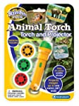 Hamleys Brainstorm Toys Animal Torch and Projector, Multi Color