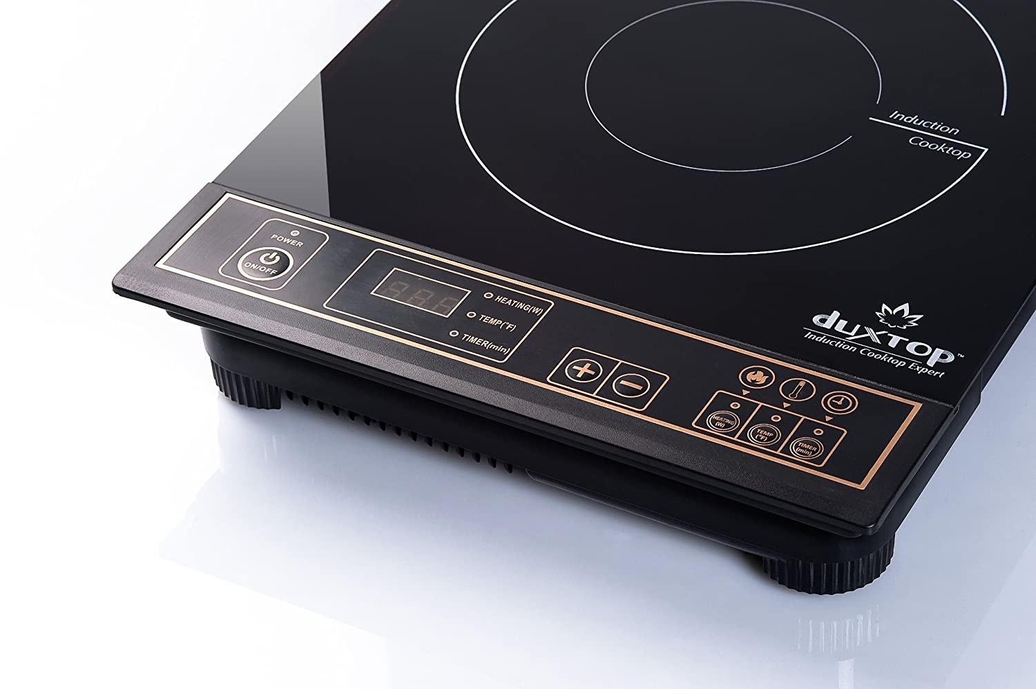 Countertop Induction Burner : ... DUXTOP 1800-Watt Portable Induction Cooktop Countertop Burner 8100MC