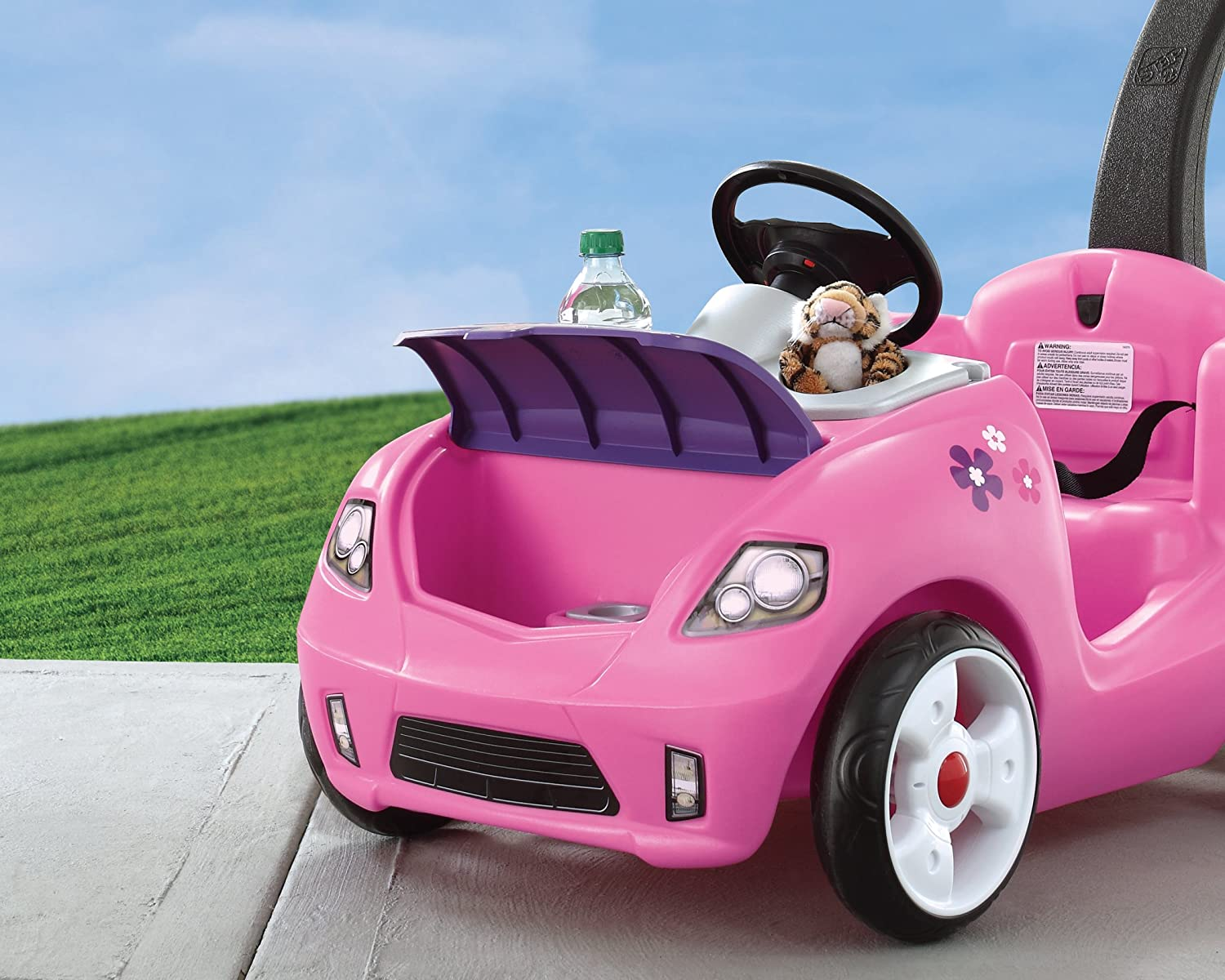 Pink Whisper Ride Buggy