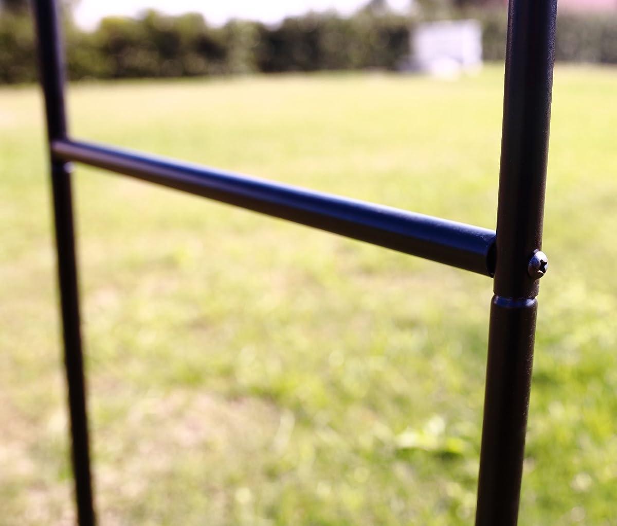 """1.Go Steel Garden Arch, 78"""" High x 45"""" Wide, Garden Arbor for Various Climbing Plant, Outdoor Garden Lawn Backyard"""