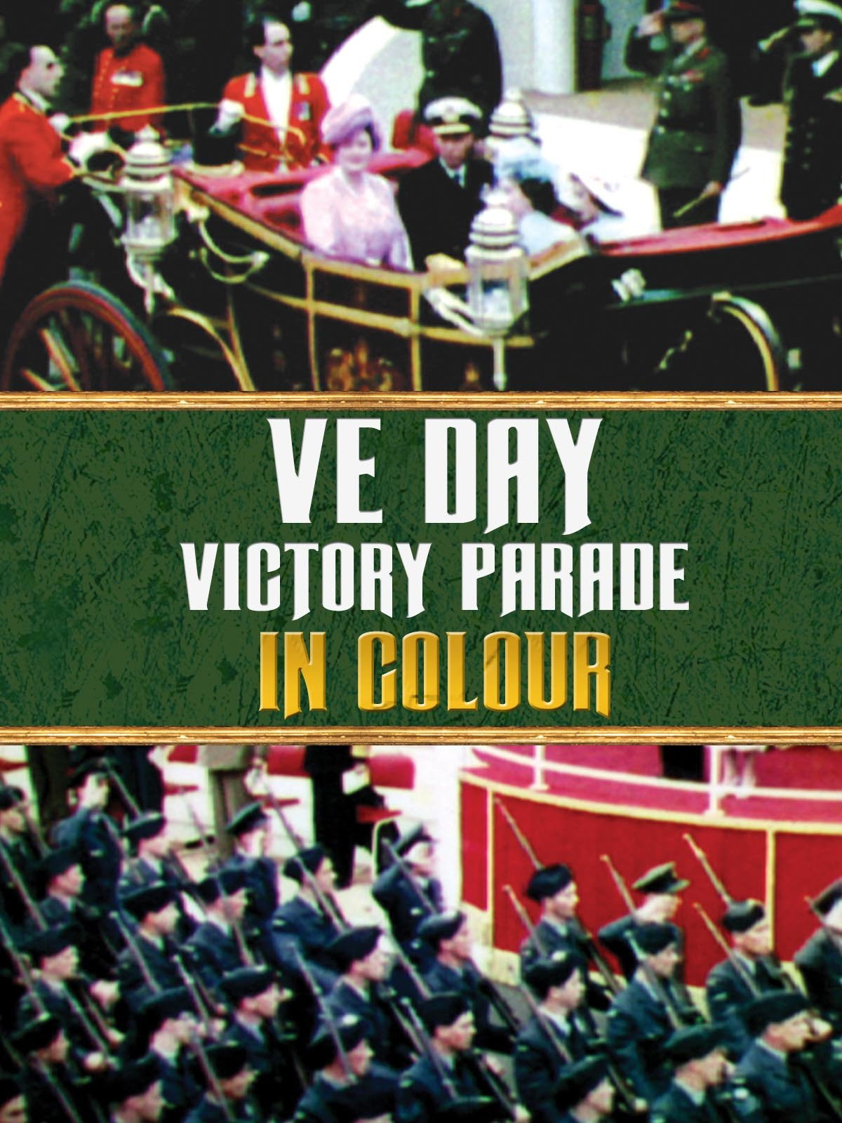 VE Day Victory Parade in Colour