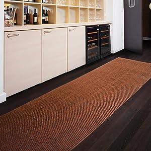 Floori Küchenläufer  9 Größen wählbar  100x1000cm, whisky   Überprüfung und Beschreibung