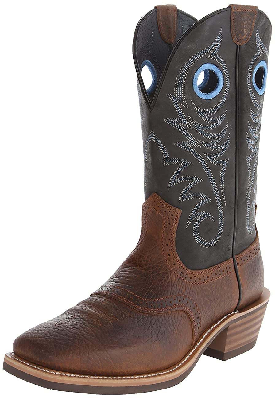 Ariat Men's Heritage Roughstock Western Cowboy Boot 0