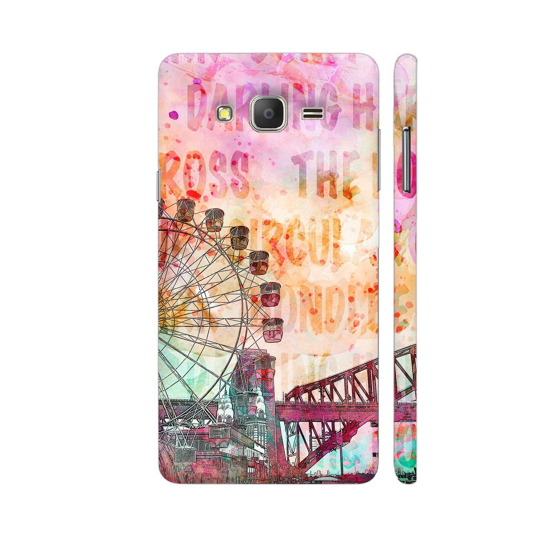 Colorpur Sydney Australia Luna Park Designer Mobile Phone Case Back Cover For Samsung Galaxy On5 Pro | Artist: LebensART