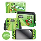 Controller Gear Skin & Screen Protector Set Super Mario Evergreen