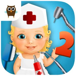 Sweet Baby Girl Kids Hospital 2 - Allergy Emergency, Broken Leg, Dentist Office and Ear Doctor from TutoTOONS