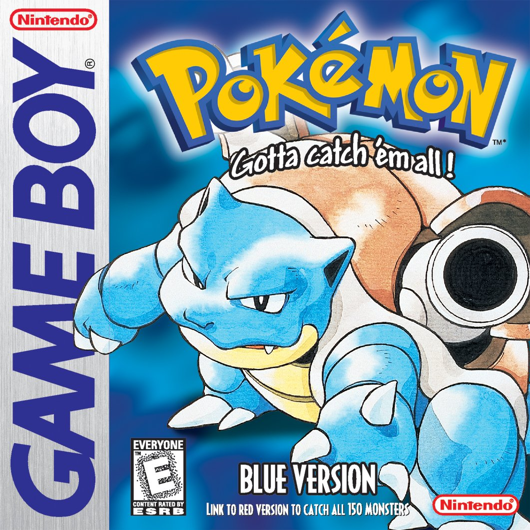 Pokémon Blue Version - 3DS (Digital Code)