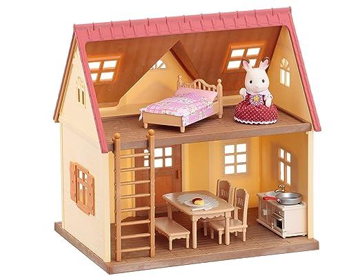 Sylvanian Families -  Cottage cosy meublé
