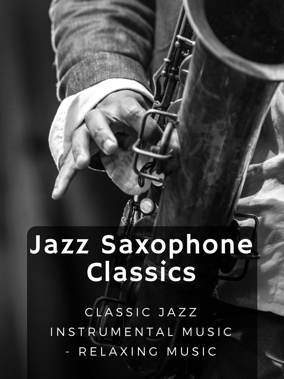 Jazz Saxophone Classics