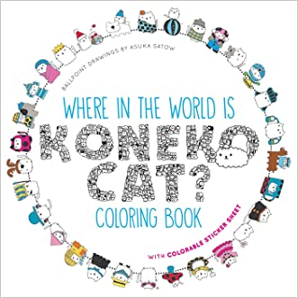 Where in the World Is Koneko Cat? Coloring Book: Coloring Around the World