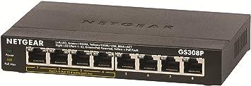 Netgear GS308P-100PES Commutateur 8 Ports