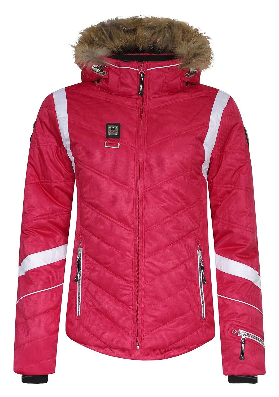 Icepeak Odda IA 453072512IA Echtpelzkragen Winterjacke Damen himbeere kaufen