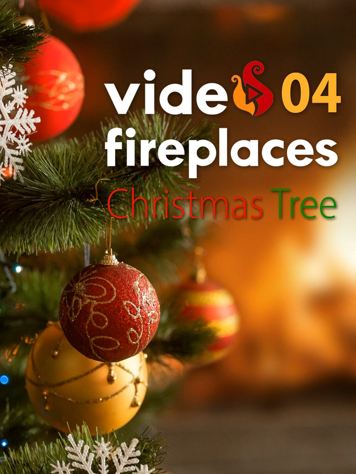 Video Fireplace 04 & Christmas Tree