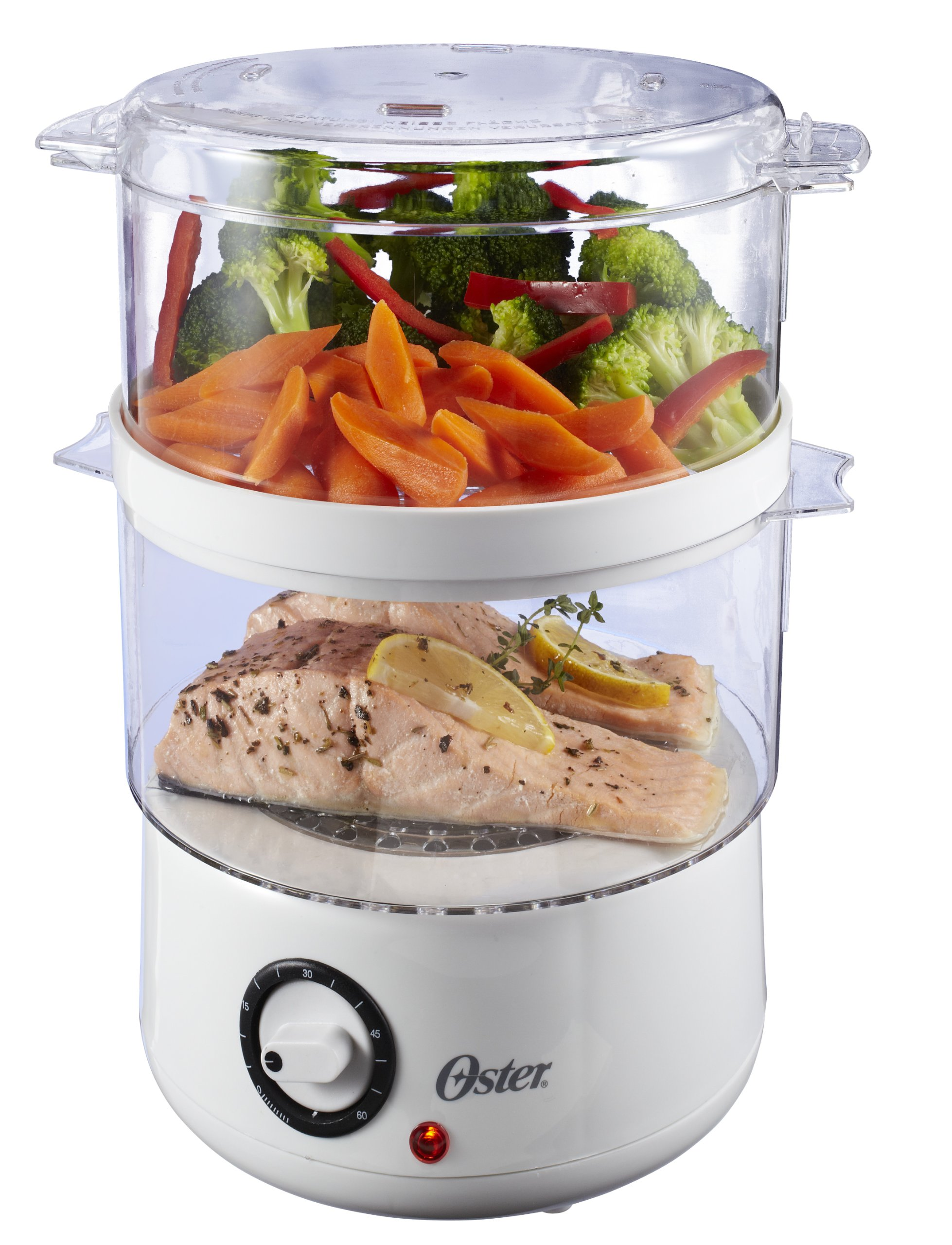 Oster CKSTSTMD5-W 5-Quart Food Steamer Via Amazon