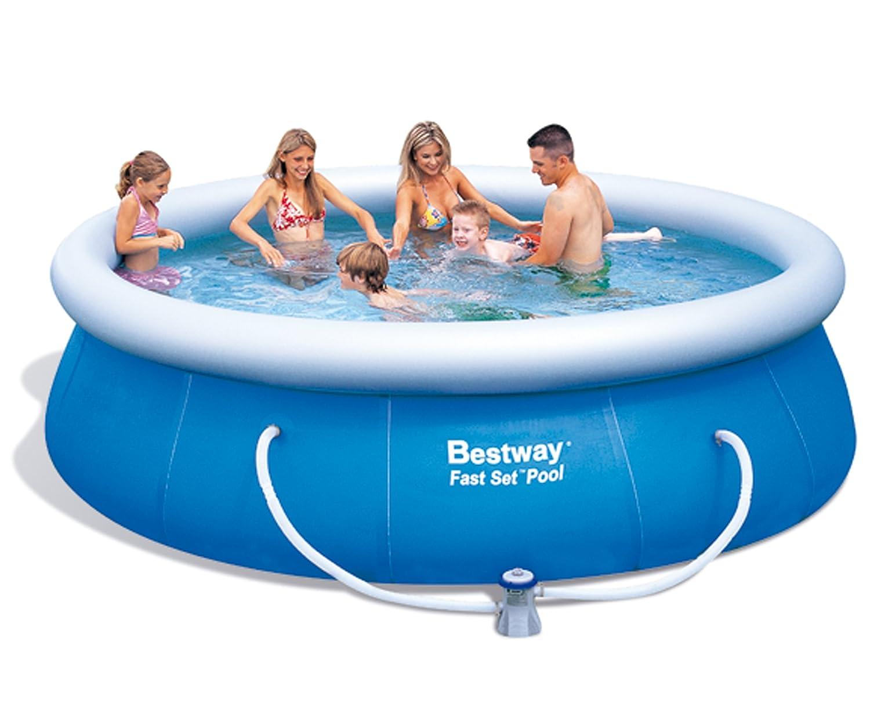 Bestway 57166 Fast Set Pool mit Filterpumpe NL, 366 x 91 cm kaufen