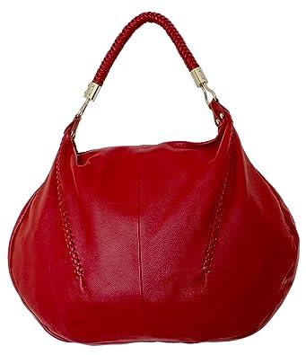 Red Hobo Shoulder Bag 71
