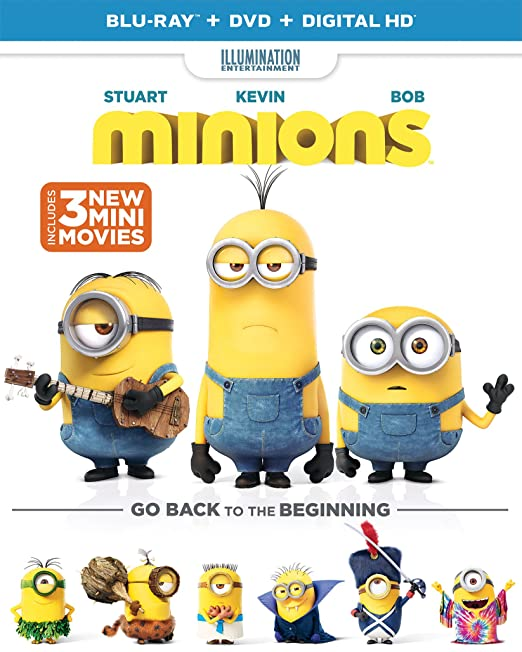 This is on my Wish List: Minions (Blu-ray + DVD + DIGITAL HD): Sandra Bullock, Jon Hamm, Pierre Coffin, Chris Renaud, Steve Carell, Hiroyuki Sanada, Kyle Balda: Movies & TV