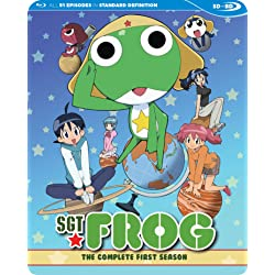 Sgt. Frog The Complete First Season SDBD [Blu-ray]
