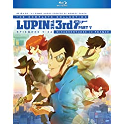 Lupin the 3rd Part V Complete Collection [Blu-ray]