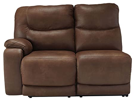 Longview Brown LAF Reclining Loveseat
