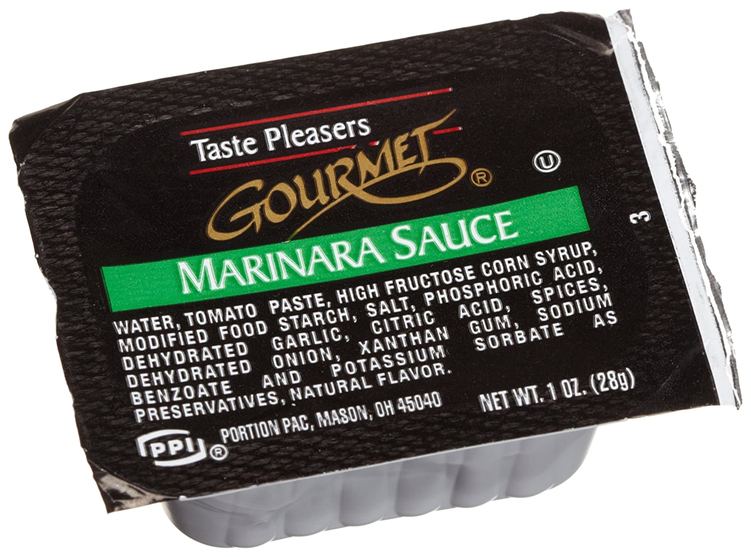 Taste Pleasers Gourmet Marinara Sauce,1-Ounce Cups (Pack of 100) glucose powder 500 grams of creatine supplements tribulus adjust taste movement branched arginine glucosamine good partner