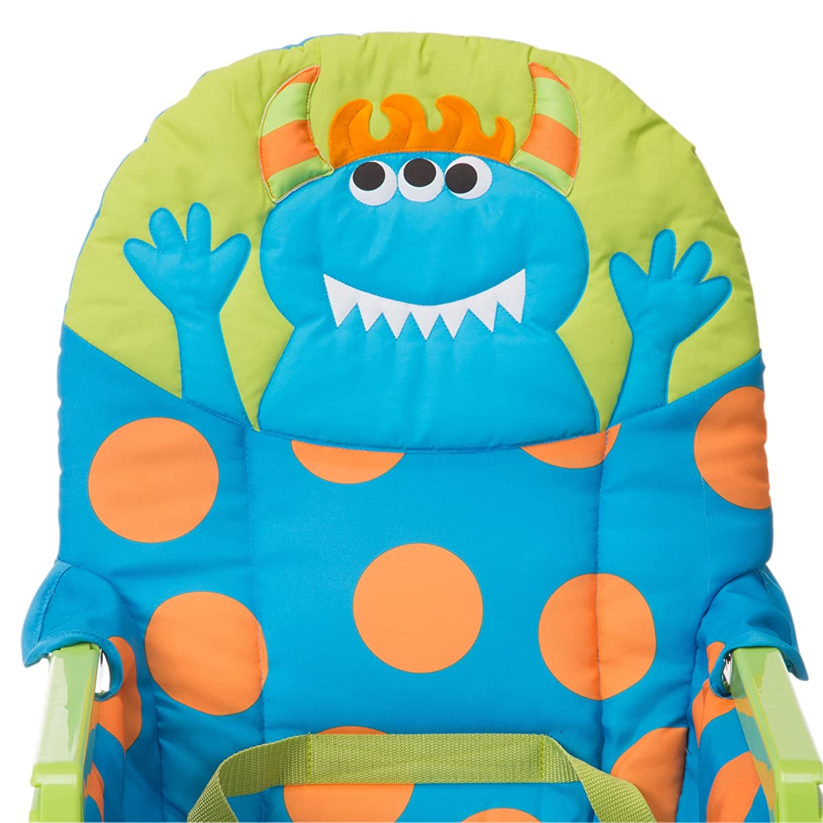 Cosco Simple Fold Deluxe High Chair, Monster Syd