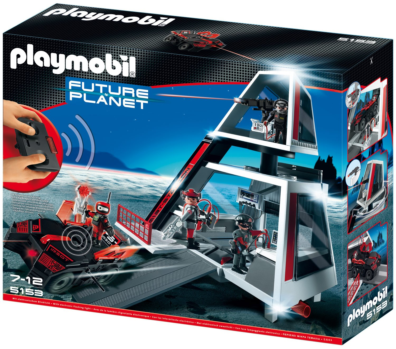 PLAYMOBIL® Darksters Tower Station (5153)