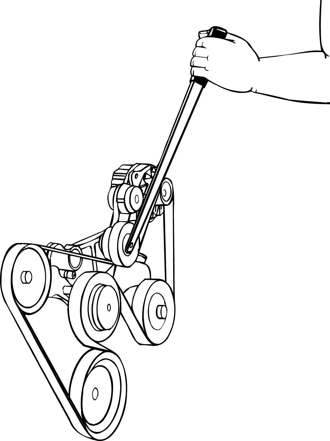 Tool Belt For Coloring Coloring Pages Belt Coloring Pages