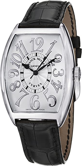 Franck Muller Cintrée Curvex Classic Stainless Steel Automatic Watch 6850 SC REL SS