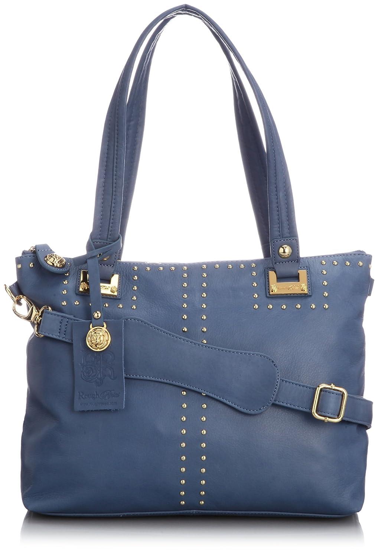 Amazon.co.jp: [ラフローゼス] ROUGH ROSES BROOKLYN TOTE RHA-5003 BLUE (BLUE): シューズ&バッグ:通販