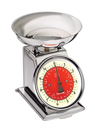 Taylor Stainless Steel Retro Kitchen Scale