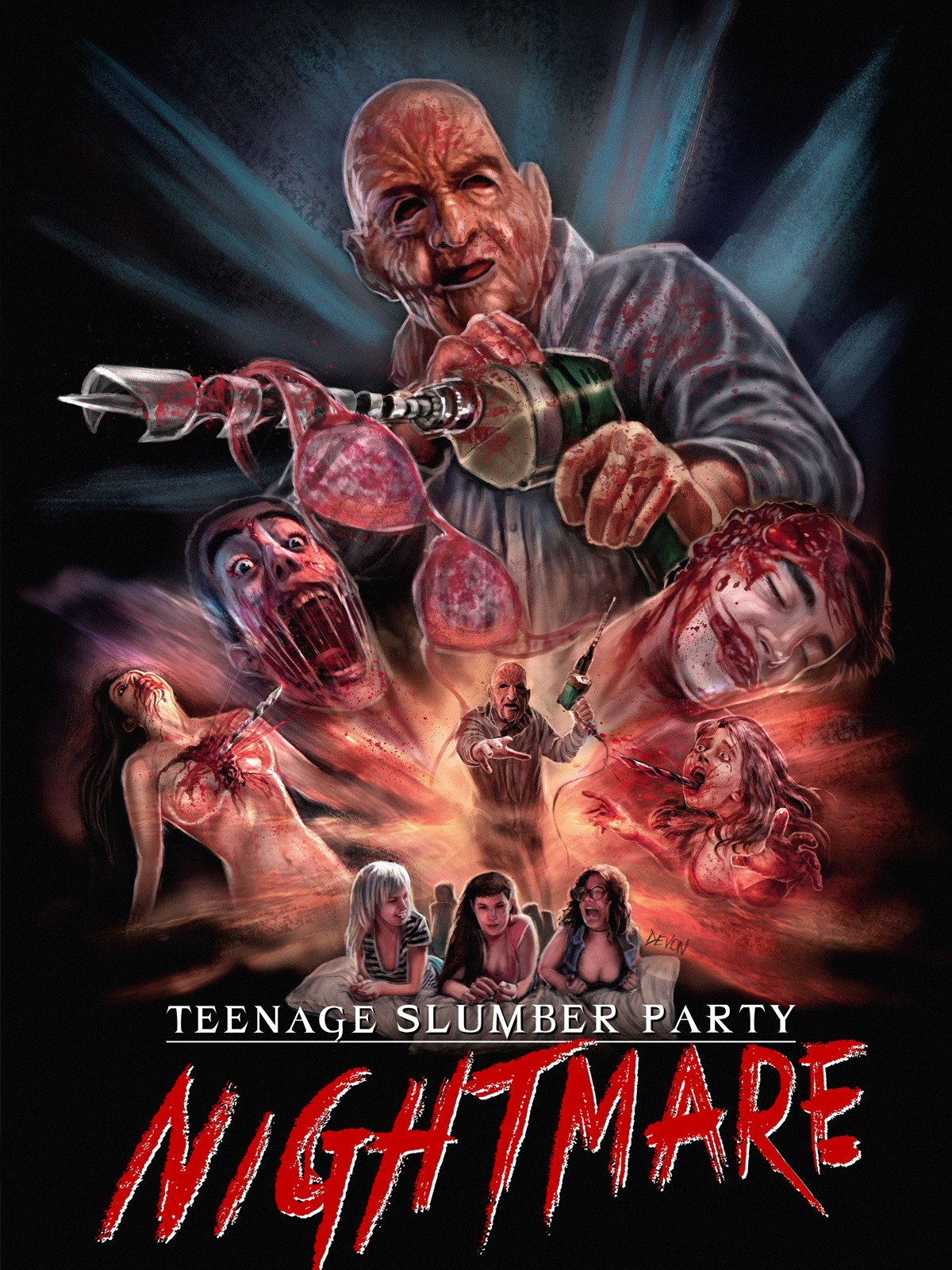 Teenage Slumber Party Nightmare