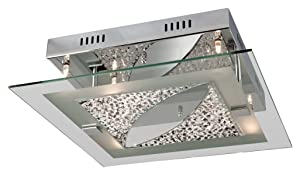 Firstlight 4250CH 6 x 12v 20 Watt Melissa Chrome Flush Fitting with Crystal Capsule       review and more information