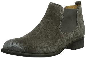Gabor Shoes Gabor, Bottes Chelsea courtes, doublure froide femme - Gris - Grau (lupo (Perlato)), 38.5 EU (5.5 Femme UK) EU   avis de plus amples informations