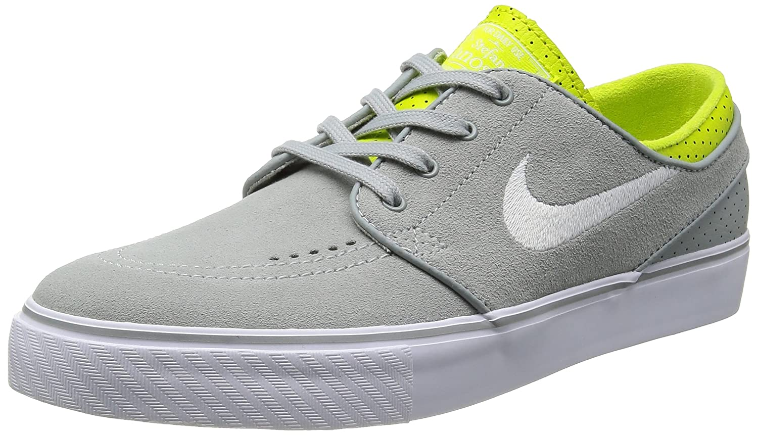 Images for nike SB zoom stefan janoski mens skate trainers 333824 025  sneakers shoes (uk 8.5 us 9.5 eu 43, base grey white venom green)