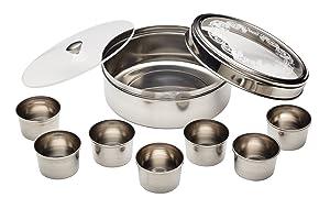 Kitchencraft - Juego de cocina india con caja de especias Masala Dabba   Comentarios y más información